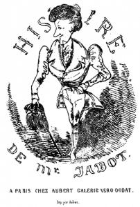 1830. Formalisation de la bande dessinée