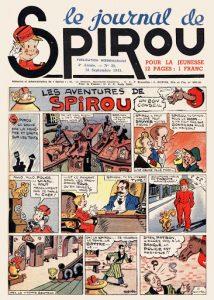 1938. Le Journal de Spirou et le débarquement des super-héros